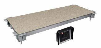 Cold Simulated Stone Shelves Built-In without Condenser Fabricator models These shelves are a must for buffet lines in cafeterias, restaurants and much more!