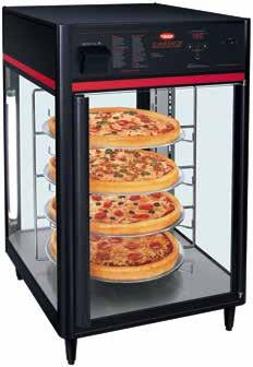Flav-R-Savor Holding & Display Cabinets Balancing a precise combination of heat and humidity, the Hatco Flav-R-Savor Cabinets provide an attractive showcase for hot food displays and generate impulse