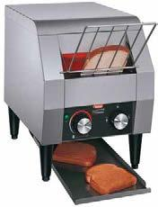 Toast-Max Conveyor Toasters The Hatco economy Toast-Max conveyor toasters offer the flexibility and performance to perfectly toast bread and buns fast - up to 300 slices per hour.