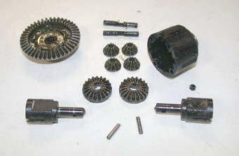 Now you have disassembled your differential.