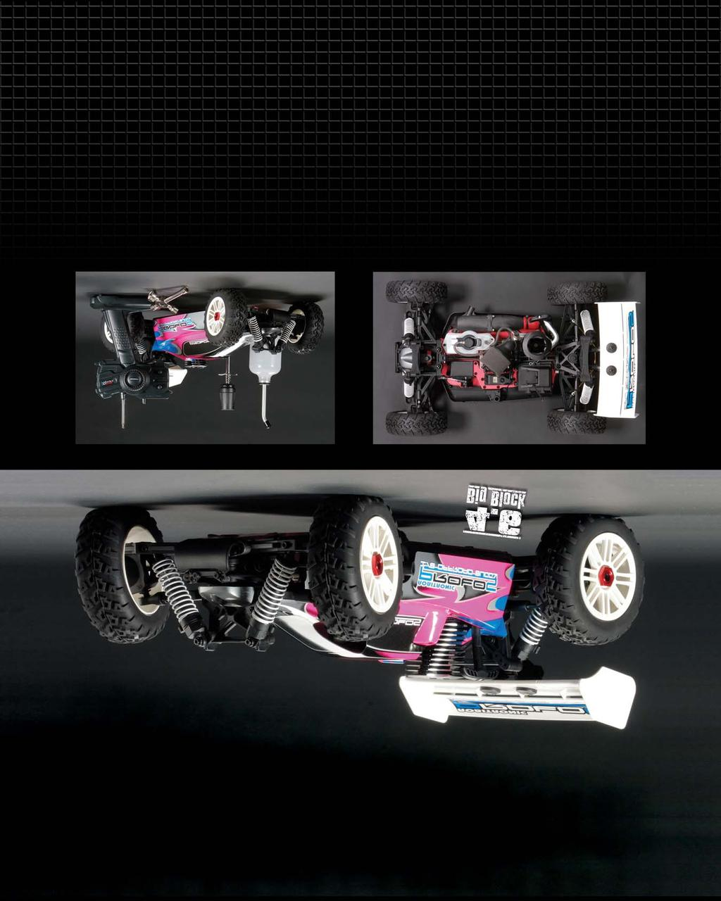Features 4WD Shaft-Drive System for better handling and traction Powerful Axial.