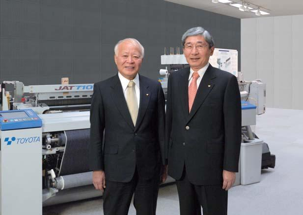 Tadashi Ishikawa Chairman Tetsuro Toyoda President The fi scal year ended March 31, 2007 (fi scal 2007), was an important year for Toyota Industries in two major respects.
