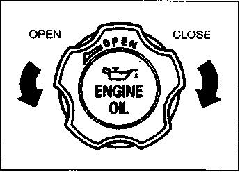 heck the oil level with the vehicle on a level surface. he oil level indication may be inaccurate if the vehicle is on a slope.