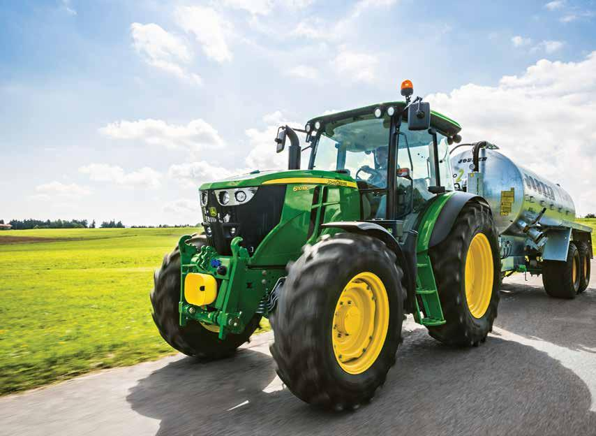 6110M Tractor 110HP 4 DUE IN 47,950 FAROL Spring Special Excludes VAT John Deere 6110M 110hp 4 Cylinder Ad Blue 4WD Standard axle PowrQuad 24/24-40km/h 420/85R38 + 380/85R24 Air Con & Air Seat Cat II
