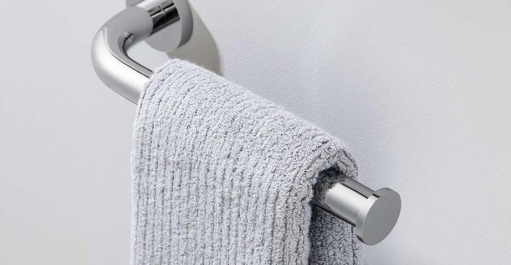 ACCESSORIES UP TO 60% Finishing touches CENTRAL TOILET ROLL HOLDER CE029C CENTRAL ROBE HOOK CE022C CENTRAL