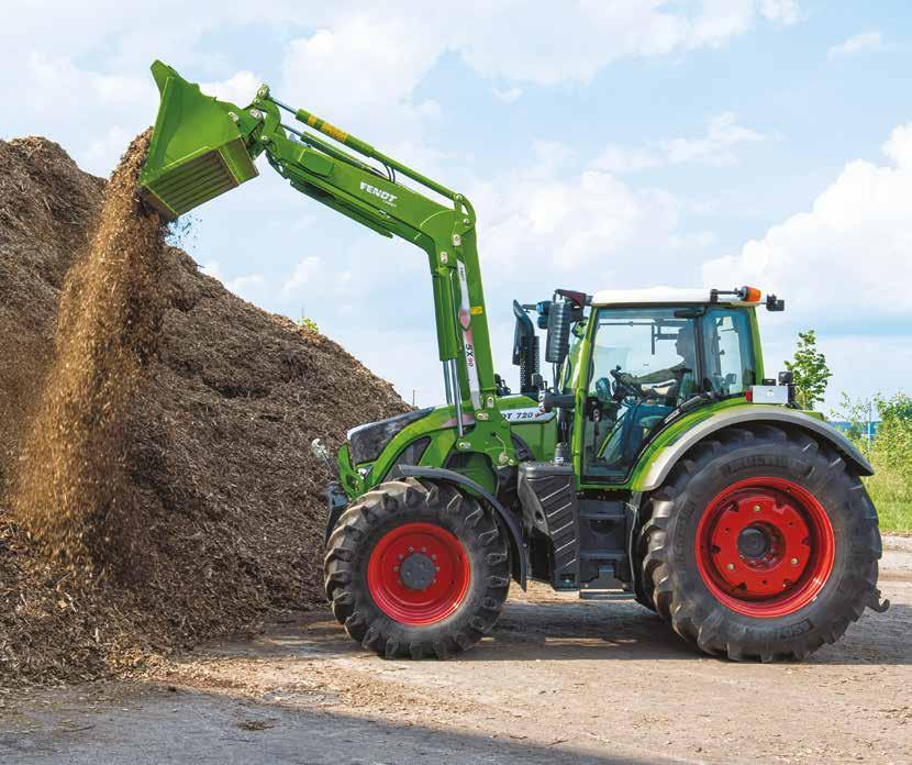 Fendt Caro The Fendt Caro is the only front loader specifically desined for the Fendt