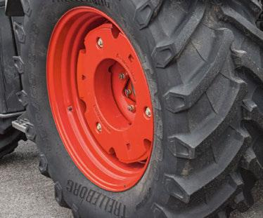 Wheel weights are available for optimum rear ballasting. They are mounted with the tried and proven Fendt coupling system.