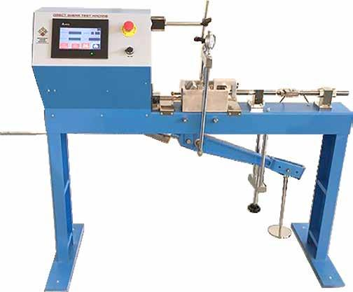 GEO TESTING EQUIPMENT Direct Residual Shear Apparatus The Digital Residual Direct Shear Apparatus is used for determination of the direct shear strength of soils specimen.