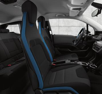 9 Interior Worlds INTERIOR WORLDS. The interior worlds of the BMW i3 allow you to choose an interior design which best reflects your own tastes.