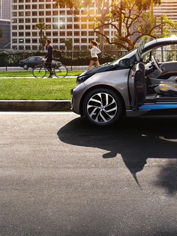 5 Interior INTERIOR. The interior of the BMW i3 demonstrates a fresh approach to vehicle design.