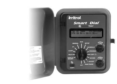 IRRITROL CONTROLLERS RAIN DIAL SERIES 6,9 & 12 STATIONS OUTDOOR/INDOOR SMART DIAL SERIES HYBRID ET RD900-INT Features: SD-1200-EXT Three independent programs offer concurrent Features: operations
