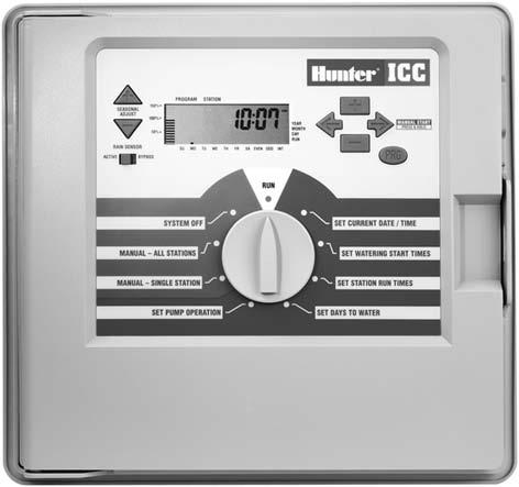 Residential Controllers Features & Benefits Easy program entry for installers and end-users 3 programs (A,B,C) with multiple start times 365 day calendar Rain sensor bypass Large wiring compartment