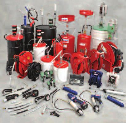A complete line of lubrication solutions and industrial pumping products At every construction site, automotive repair shop and industrial plant, maintenance and automotive service professionals need