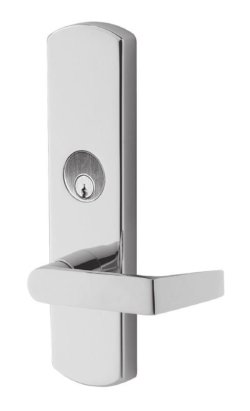 E996L Electrified Breakaway lever trim E996L Electrified Breakaway lever trim provides remote locking and unlocking capabilities while incorporating the patented Breakaway trim design.