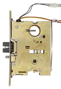 E7500 Electric mortise lock Allegion Connect The electric mortise lock device has all the versatility and advantages of the standard mortise lock device, plus the advantage of being electrically