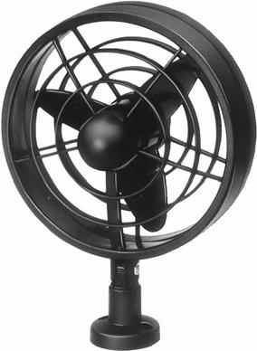 Fans Jet Fans, Air Foot Pumps Powerful fan for a pleasant breeze or a powerful flow of air. 30 mm propeller. On/off switch on housing.