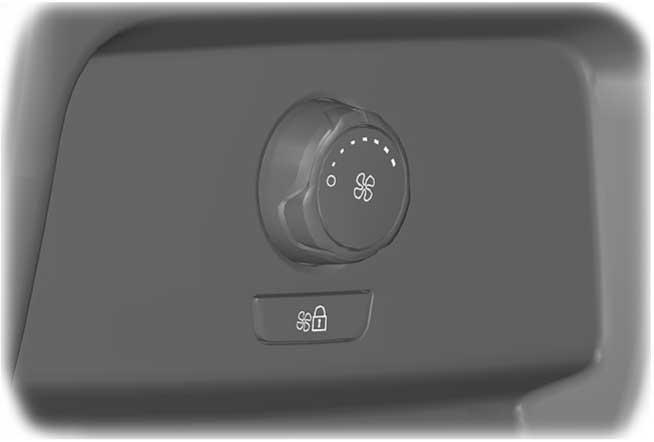 Climate Control REAR PASSENGER CLIMATE CONTROLS Type 1 E200664 A B Type 2 B E200665 B A Rear climate control lock indicator. Fan speed control Adjust the volume of air circulated.