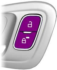 Locks LOCKING AND UNLOCKING Power Door Locks The power door lock control is on the driver and front passenger door panels. E184784 A B A B Unlock. Lock. Remote Control You can use the remote control at any time while your vehicle is switched off.