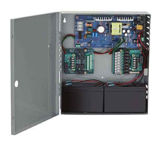 22 Electrical options Power supplies PS902 Overview: The PS902 is an AC power supply that provides 24 VDC power to operate the ALK alarm kit. The unit will power up to 6 alarm kits.