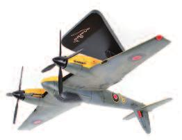 missing display stands, to include Gloster Gamecock, and a DHC Chipmunk WD359, both in original foam packed boxes 70-100 Lot 2531 Lot 2532 2532 Bravo Delta Models, F-4U Corsair #29, with display