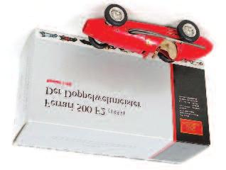 finished in red, in the original box (NMM-BNM) 120-180 Lot 2552 2555 CMC Exclusive Models M-067C 1/18th scale model of a Porsche 901 1964