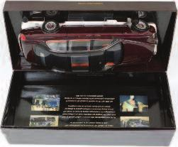 model of a Ferrari 250 GT Berlinetta Passo Corto (SWB), finished in red, in the original box (NMM-BG) 120-180 Lot 2564 2564 Exoto Racing Legends, 1/18th scale model of a Lola T70 MK3, finished in