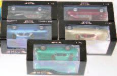 115/300 (Both NM-BVG) 80-120 2598 Top Slot Racing Pegaso Collection, Slot Car Group, 2 boxed examples to include TOP-7014 Pegaso Z102 Spyder Touring Le Mans, Limited Edition 40/300, and TOP-7011