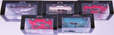 Serra, Limited Edition 211/300, and TOP-7003 Pegaso Z102 Rosa De The Chasis, Limited Edition 211/300 (Both NM-BVG) 80-120 2600 Tekno No.