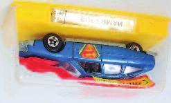 2155 Citroen CX Superman, appears as issued in the original sealed plastic case (M- BNM) 30-50 2652 Budgie Toys No.