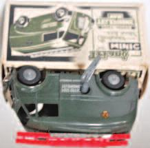 with black chassis, cast hubs, with Minic Transport Livery, in the original box with key (NM-BGVG) 120-180 Lot 3118 3119 Triang