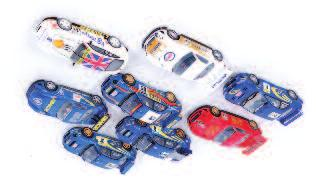 discoloured 15-20 3174 13 various loose Scalextric and other slot racing cars, mixed example, some A/F, to include Porsche 959, Benetton Formula 1 Car and others 40-60 3175 A large quantity of mixed