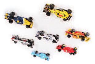 Slot Racing Cars, to include DTM Opel V8 Coupe, Porsche 911 GT3R, Subaru Impreza WRC, 2x Mercedes CLK DTM, and 3x Porsche 911 GT3R in various livery, 70-100 Lot 3176 3177 8 various loose Scalextric