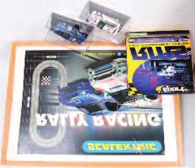91 Le Mans 2003, both limited edition 70-100 3192 Fly Models Slot Car Cased Group, 2 boxed examples, to include Ref A22 Marcos 600 LM Azul 1995, and a Ref A2 Dodge Viper GTS-R Daytona 96, 40-50 3193