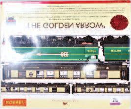 2635 (M-BM) 50-60 Lot 717 717 A Hornby R2369 Golden Arrow train pack containing British Railways malachite green, engine and tender No.