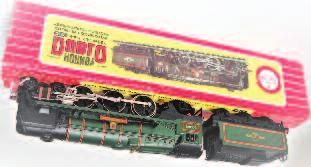 60010 Dominion of Canada example, all Commonwealth of Australia all in wooden case (G-BG) 150-200 731 A Hornby Dublo EDP2 Duchess of Atholl train set loco and stock in clean condition, complete with