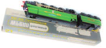 6 of 25 limited edition (M- BM) 50-60 793 Wrenn Railways W2265/A streamlined bulleid Pacific SR malachite green Fighter Pilot in Golden Arrow livery No.
