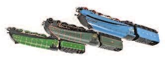 4903 Peregrine (Both NM-BVG) 80-120 826 Bachmann 00 Gauge Boxed A4 Locomotive Group, 2 examples, to include 31-959 A4 26 Miles Beevor LNER Garter Blue (NM-BVG), and Bachmann 31-958 A4 No.