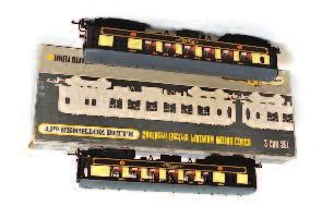897 A tray containing a Gaugemaster Prodigy Advance 2 DCC control system (unboxed) with a Hornby Select DCC controller and 4 Hornby Digital prints decoders 80-120 898 4 coaches and one bogie wagon by