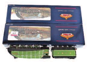 Lot 972 972 Bachmann Boxed Locomotive Group, 2 boxed examples, to include No.31-952A A4 No.2512 Silver Fox LNER Silver Grey, and 31-956 A4 No.