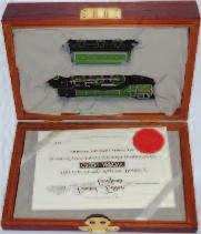 4771 to cab sides, 6 wheel tender, with 9ct Gold Name Plate, Limited Edition with certificate (NMM-BNM) 100-120 Lot