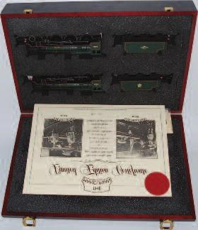 31-275Y The Mancunian Gift Set, comprising of 2 Locomotives in wooden case, to include No.46168 The Girl Guide, and No.