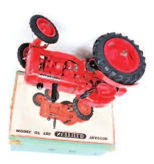 1246 ERTL Precision Construction 1/16th scale diecast model of a CASE 580 Super M Tractor and Shovel, in the original polystyrene packed box (VG- BG) 30-50 1247 Universal Hobbies 1/16th scale boxed