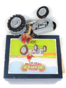 New Holland TS135A Tractor, Britains 9521 Volvo Tractor, and others 100-120 1292 Universal Hobbies Boxed 1/16th scale boxed tractor group, 3 examples, to include Fordson Power Major (VG-BVG),