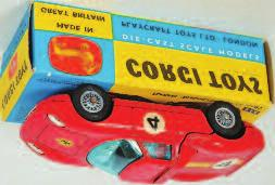 number 4, wire detailed wheels, in the original blue and yellow all card box, (NMM-BVG) 60-80 1648 Corgi Toys, 237 Oldsmobile Sheriff car,
