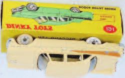with figures, spun hubs, in the original all card box (VGNM-BGVG) 60-80 Lot 2017 Lot 2018 2018 Dinky Toys, 191 Dodge Royal Sedan,