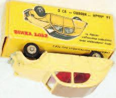 Commander, red/ornage body with tan roof, convex spun hubs, white tyres, in the original all card box (VG-BVG) 70-100 2021 French