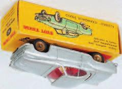original all-card yellow picture sided box, (VGNM- BVG) 60-80 2023 French Dinky Toys, 549 Borgward Isabella TS, silver body with