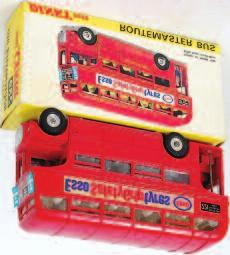 Atlantean Bus, cream and red body with Regent Livery, in the original all card box (VG-BVG) 30-50 Lot 2062 2067 Dinky Toys, 282 Duple Roadmaster coach,