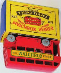 6A Quarry Truck, orange cab and chassis, light grey tipper, gold trim, metal wheels, in the original type A all card box (VG-BG) 30-40 2318 Matchbox 1-75 Series No.