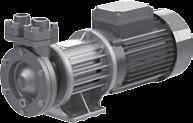 50 Pumps for heat transfer technology Centrifugal pumps with magnetic coupling Regenerative turbine pumps with magnetic coupling Modular system TOE-MN/MA/MI and TOE-GN/GA/GI series mean a consistent